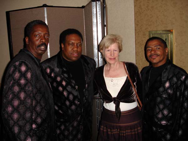 Persuaders (soul group) with Pam at SoulTrip USA (NJ), 2006