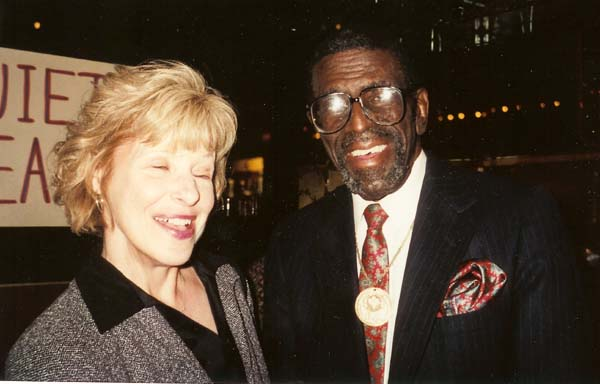 Leonard Puzey (Ravens) and Pam