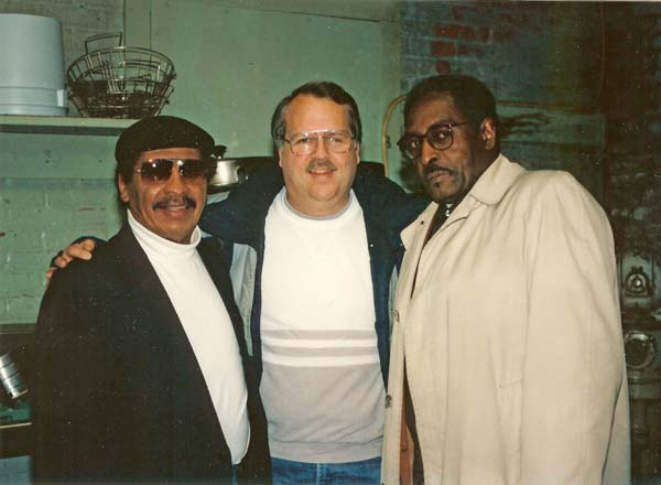 Chuck Carbo (Spiders), Charlie, Alphonso Howell at UGHA, 1996