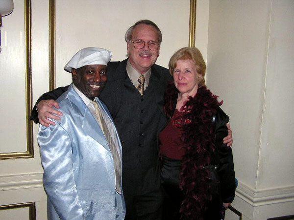 Joe Jones (Tams) with Charlie & Pam, Charleston, SC, 2003