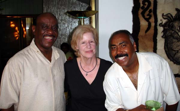 Ceasar Berry (Tymes), Pam Horner, Norman Burnett (Tymes), 2007