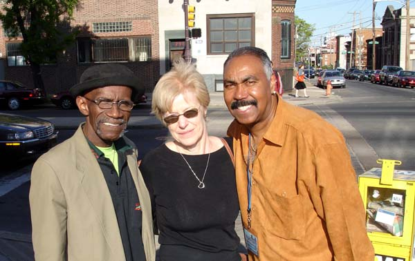 Donald Banks (Tymes), Pam, Norman Burnett (Tymes) 2006