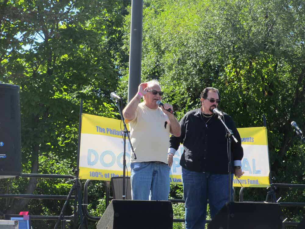 Cool Bobby B and King Arthur, emcees
