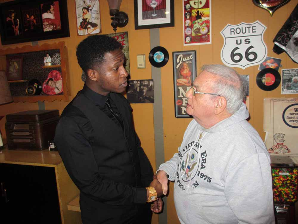 De'Sean Dooley & Eddie Natale of the South Philly String Band Club