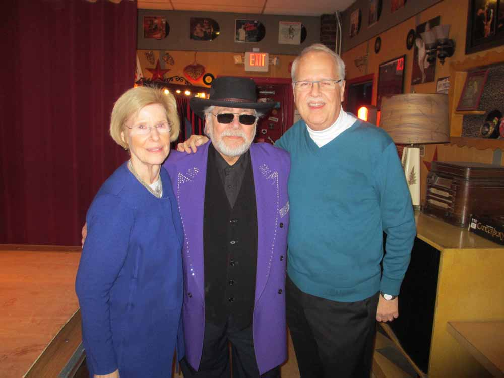 Pam & Charlie with Larry Chance