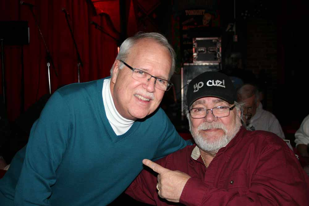 Charlie Horner & Larry Chance.  Photo by Marian Cicerale.