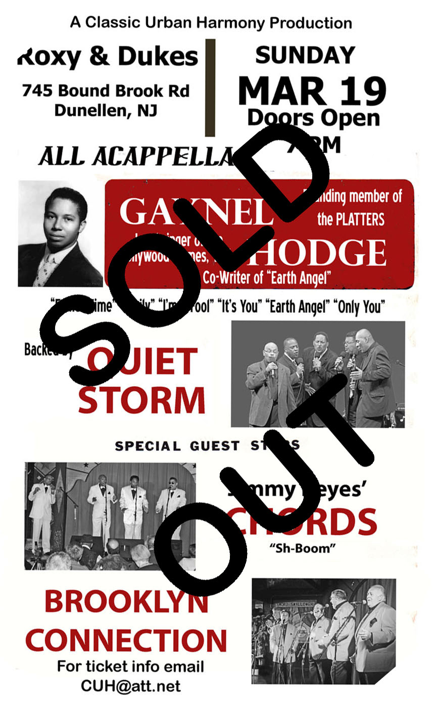 Gaynel poster sold out