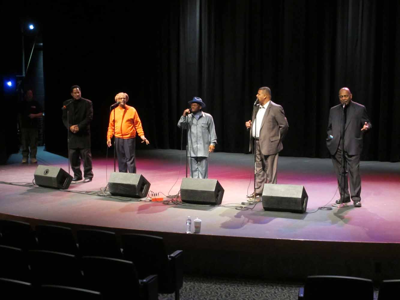 Quiet Storm sound check