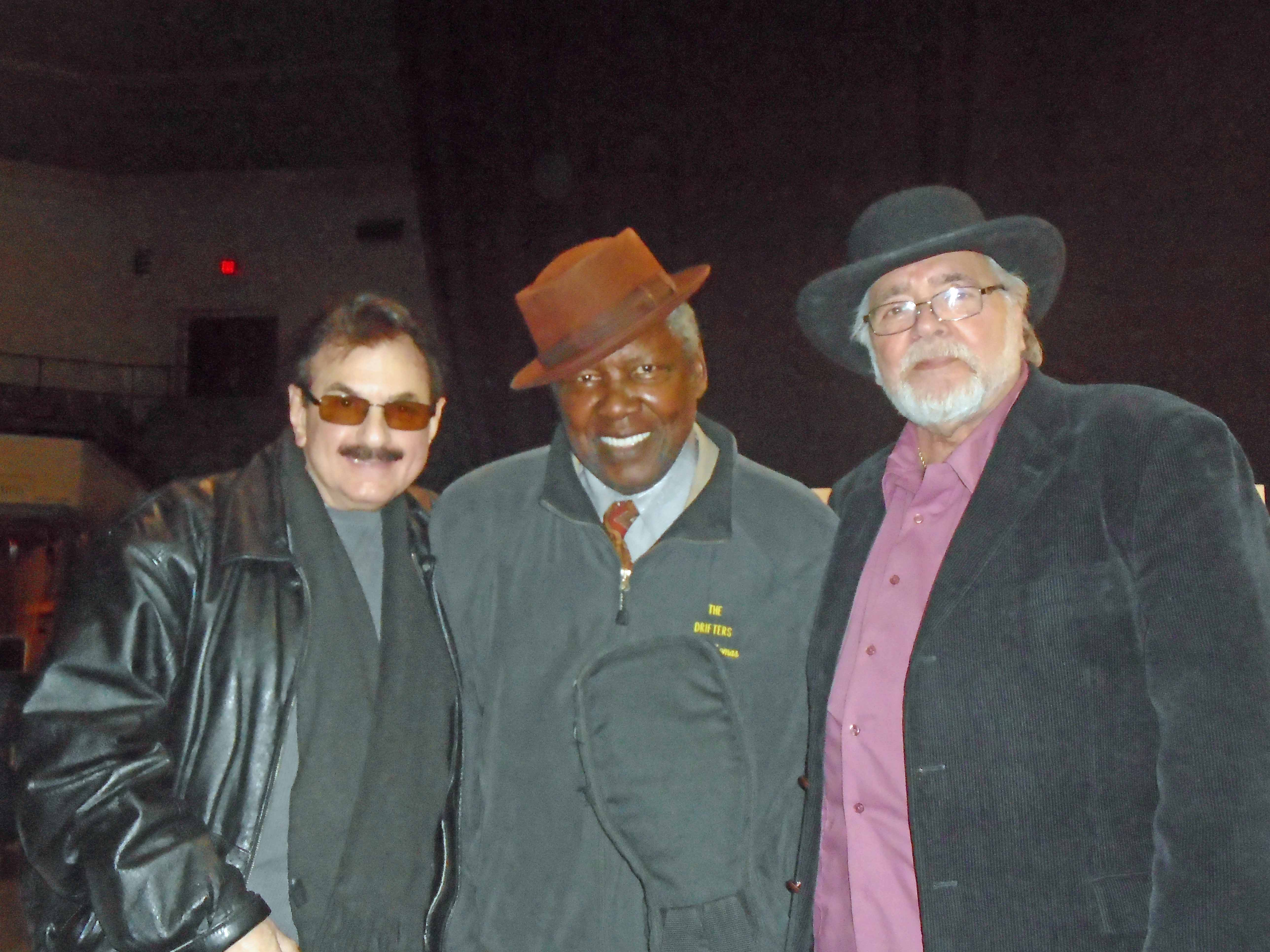 Charlie Thomas (Drifters), Larry Chance (Earls).  Courtesy of Marain Civcerale.