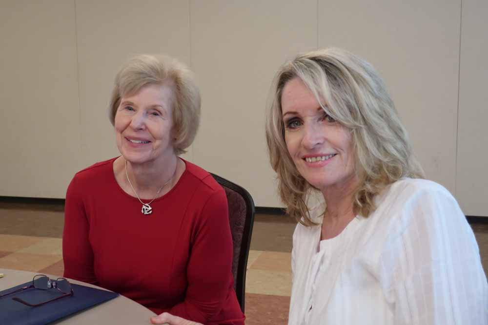 Pamela Horner and Joan Katz